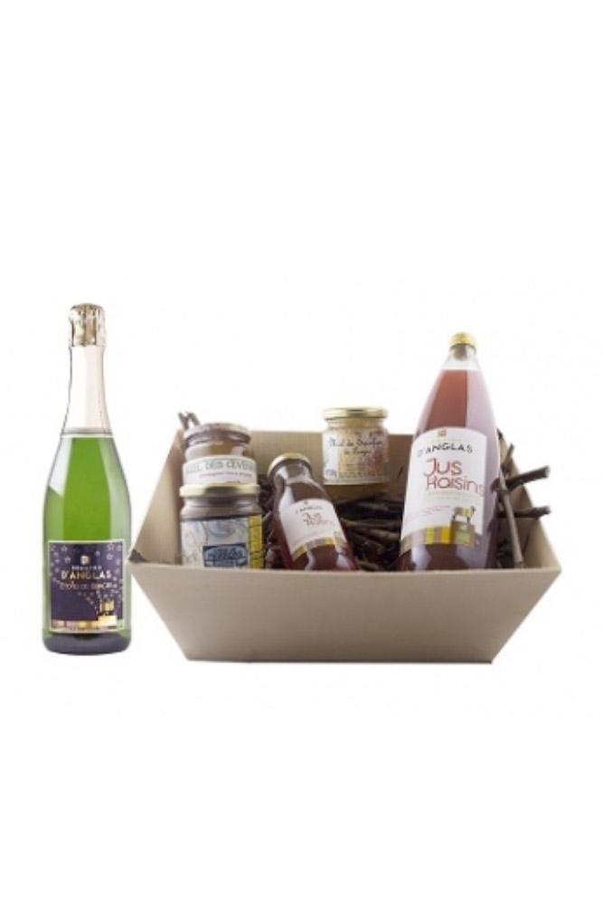 Panier sucré du vignoble du Domaine d'Anglas - Achat Vente de vin